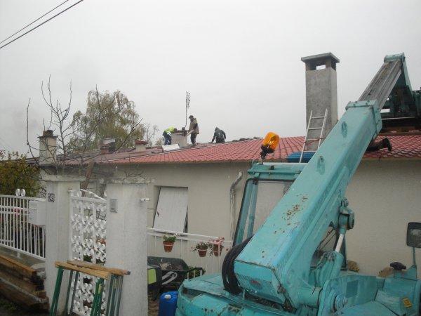 On répare la toiture