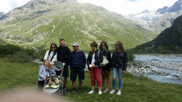 Beaux souvenirs de vacances en famille...La Savoie.