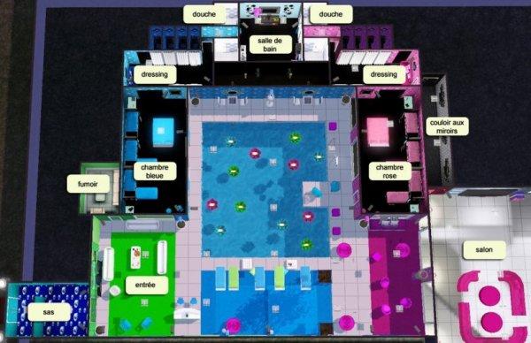secret story 8 plan de la maison