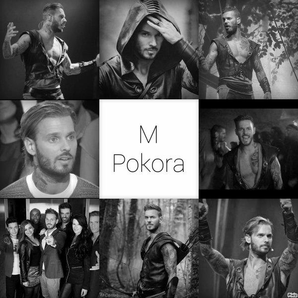voici mes montage de M Pokora