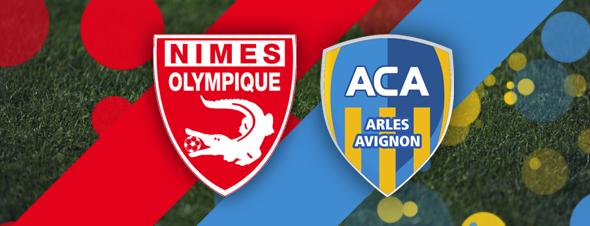 Nîmes 1 - 2 ACA