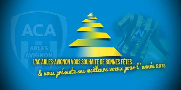 L'AC Arles-Avignon vous souhaite de joyeuses fêtes