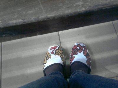 affaire de chaussure