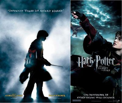 Celle qui a été voir Harry Potter et la Coupe du feu.