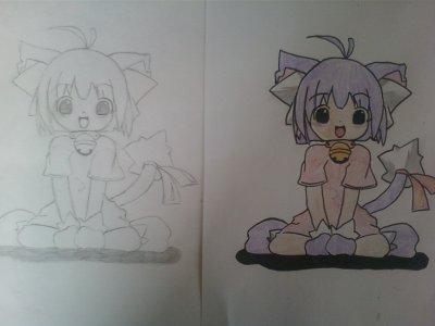 mon dessin nya~ nya~