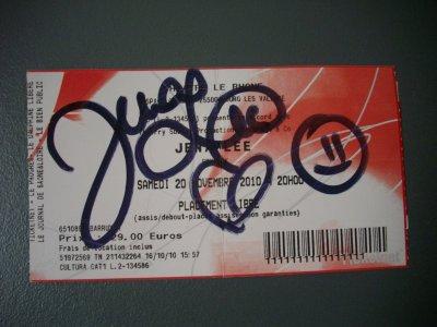 Concert de JENA LEE :D<3