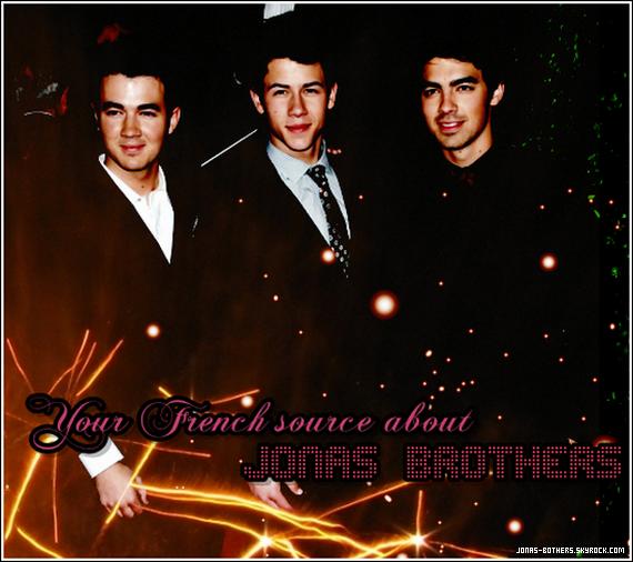 . JONAS-BOTHERS.SKYROCK.COM • Ta source française sur les Jonas Brothers   .