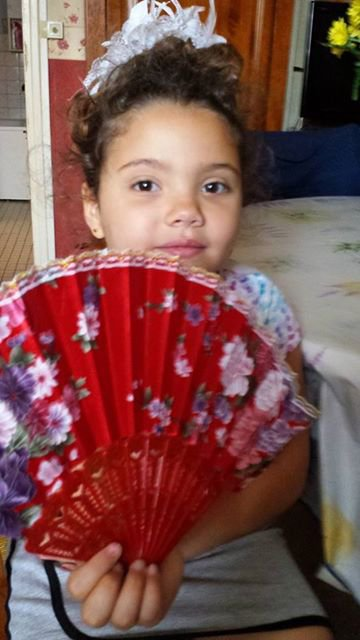 ines 6ans ma petite fille