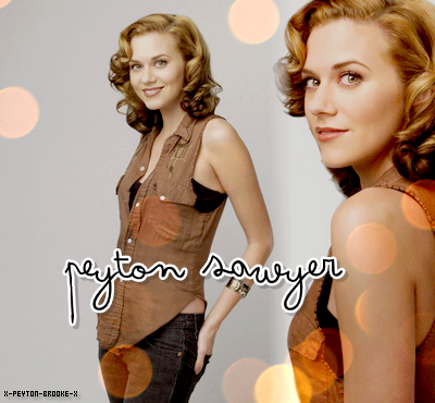 © Article n°02 » Peyton Sawyer - Hilarie Burton{ Décorαtion . Texte . Picture }