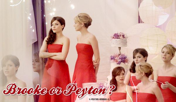 © Article n°05 » Plutôt Brooke ou Peyton ?{ Décorαtion . Texte . Picture }