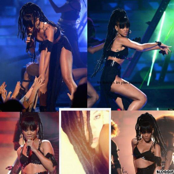 Rihanna avec des Dread !