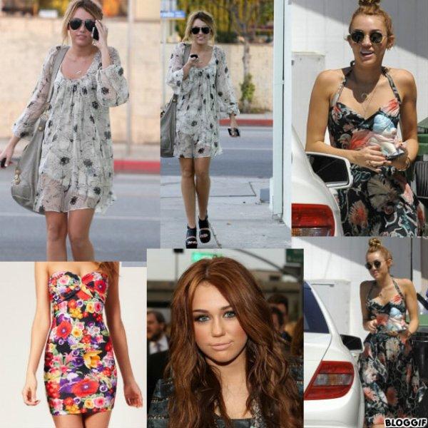 Mode robe a fleur !!