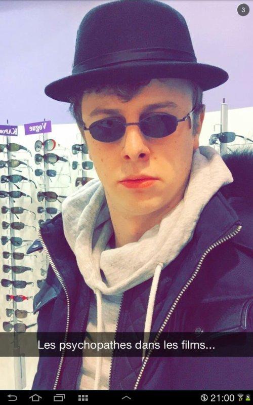 Norman sur snapchat