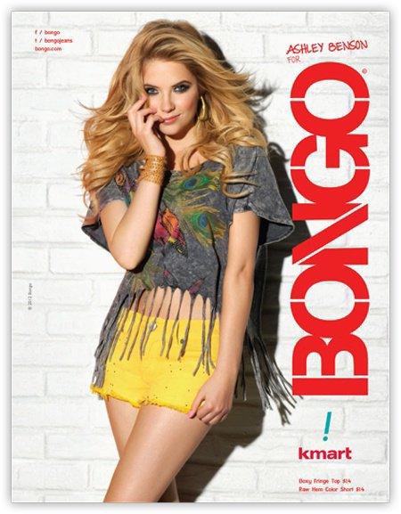 Ashley Benson qui pose pour Bongo