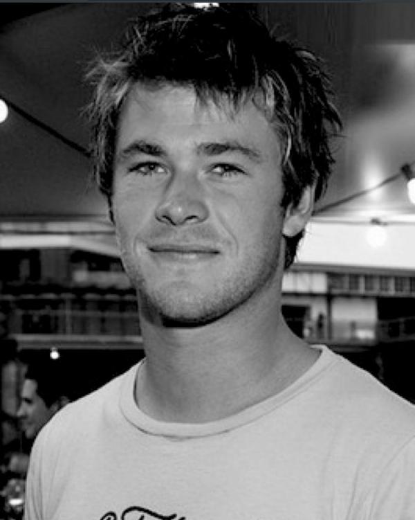 Chris Hemsworth plus jeune