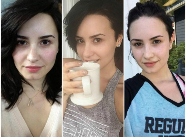 Demi Lovato au naturel