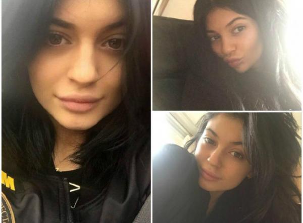 Kylie Jenner au naturelle