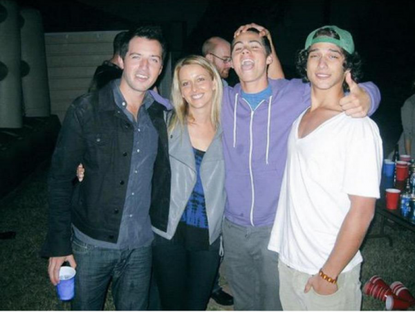 Dylan O'Brien et Tyler Posey plus jeune
