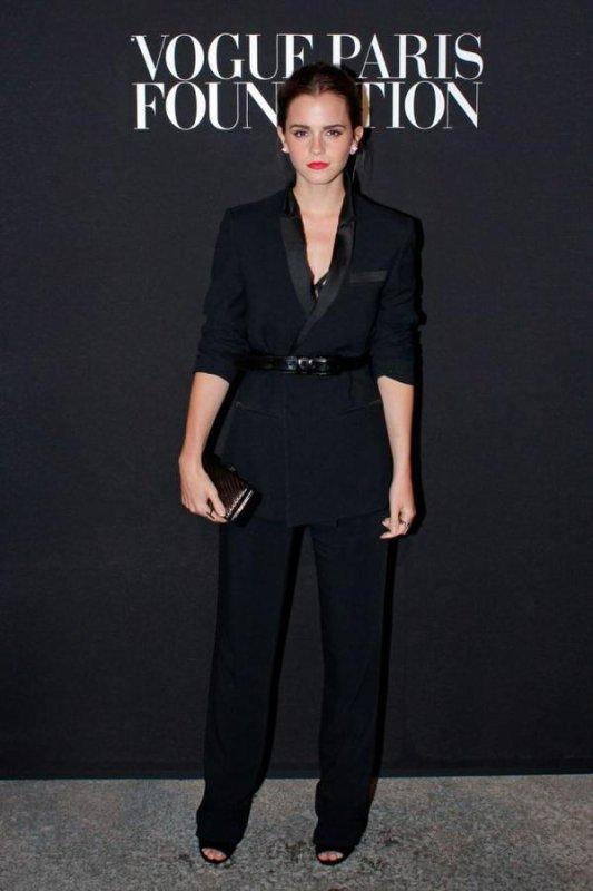 Emma Watson à la Vogue Paris Foundation