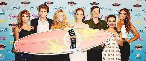 cast PLL au Teen Choice 2011