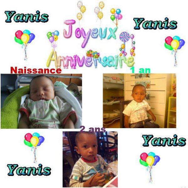 Bon Anniversaire Yanis