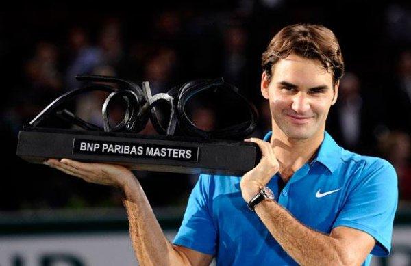 Bercy: Roger Federer un peu installé en Master Class