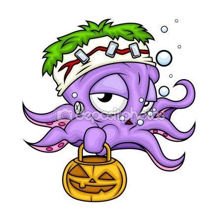 Joyeux Halloween, mes petits poulpes!