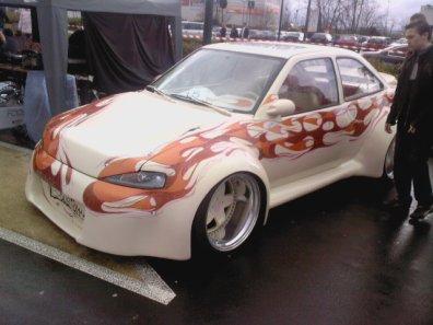 la Ford Escort  de méga Custom