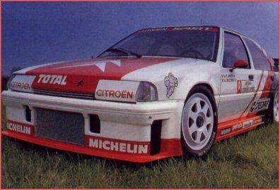 Citroën BX Turbo Supertourisme de 1989