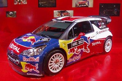 La Citroën DS3 WRC 2011 dévoilée : l'arme de Sébastien Loeb !