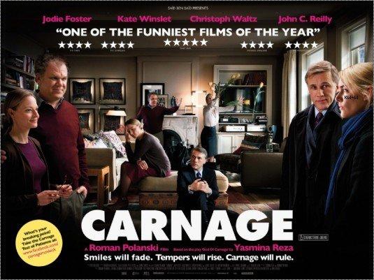 "-- 04/03/12 Promotion "" Carnage "" + Sortie du DVD le 11/04/12 !   --"