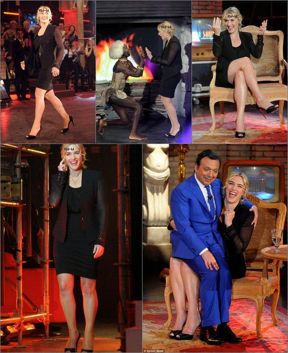 """-- 06/03/12 Kate dans une tv italienne : """" Chiambretti Show """"  --"""