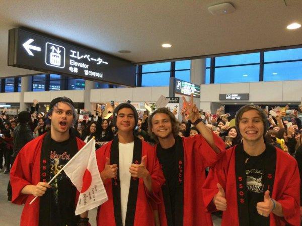 Les 5sos au Japon