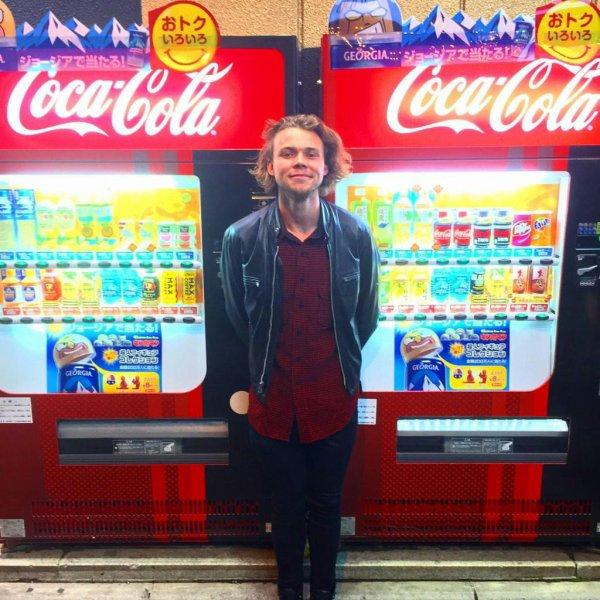 Ashton au Japon ❤
