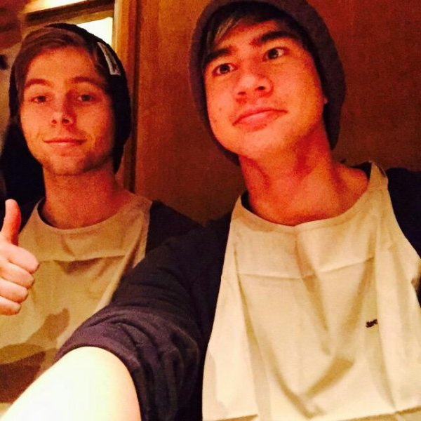 Luke et Calum