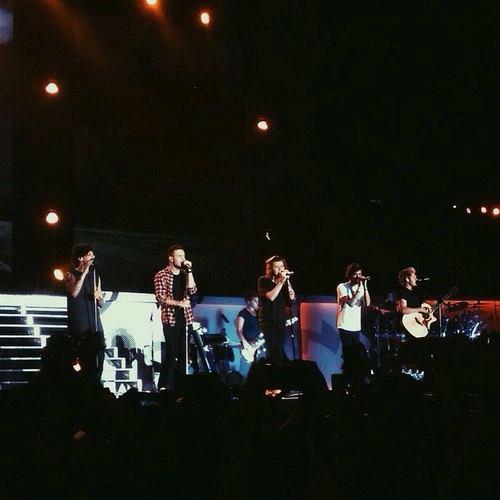 Les boys sur scène #1❤