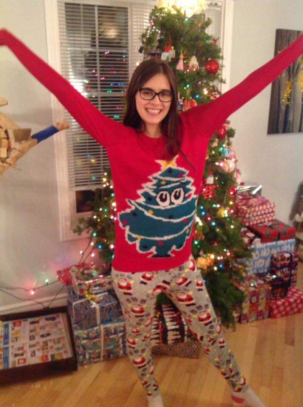 Moi après mes achats de Noël 😂❤
