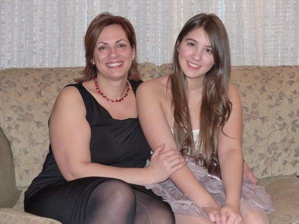 Ma mère et ma soeur à Noël 2015 ❤