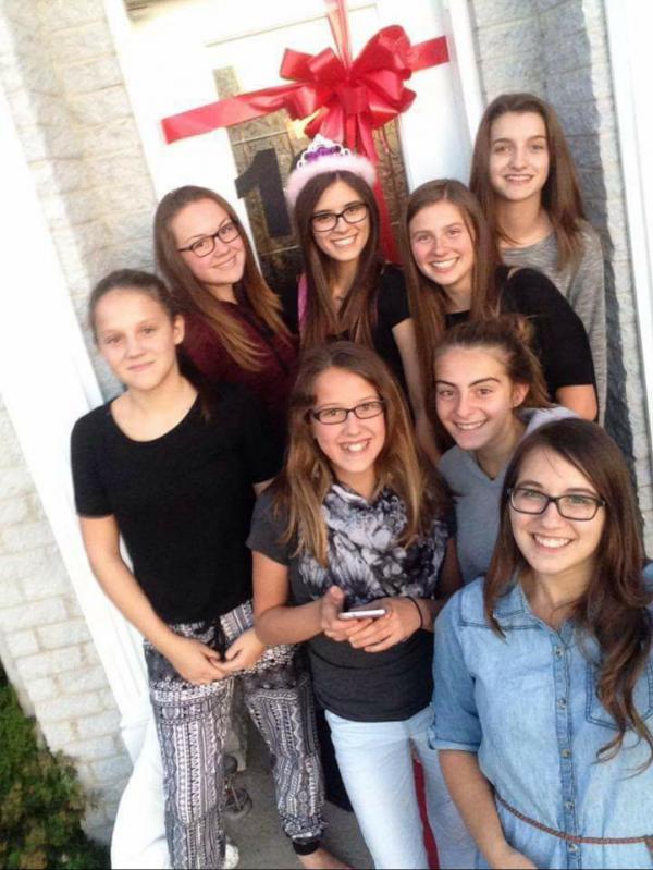On est une grosse famille de filles, hein?! 😎❤