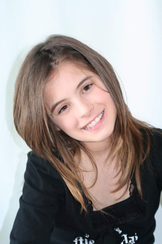 Vieille photo de moi vers 11-12 ans 😂❤