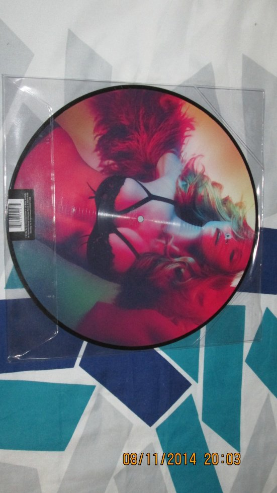 Madonna Girl Gone Wild Picture Disc Verso