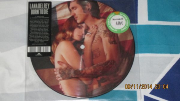 Pictire Disc Lana Del Rey Born To Die Recto