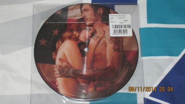 Picture Disc Lana Del Born To Die Verso