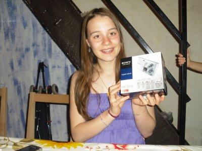 Anniversaire de Vittoria 15Ans. 01/05/2011.
