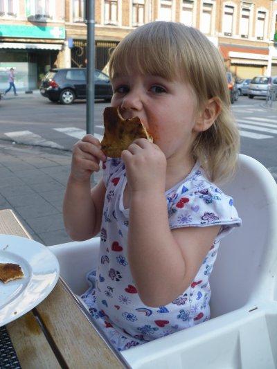 MMMMMM... La bonne pizza...