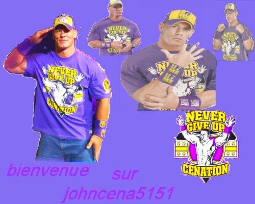 WELCOME ON JOHNCENA5151