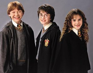 harry hermione et ron