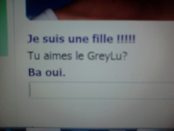 Evie,est une GreyLu,en voici la preuve