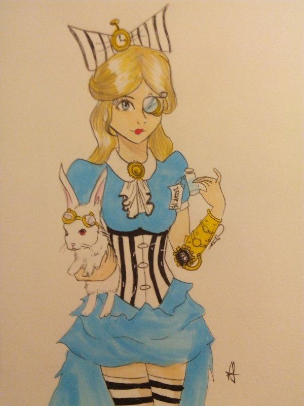 Alice Liddel,Version steampunk