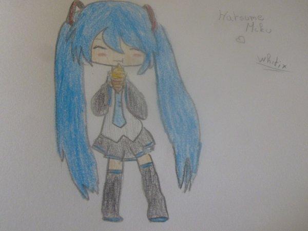 Encore un déssin :3 : Hatsune Miku ~